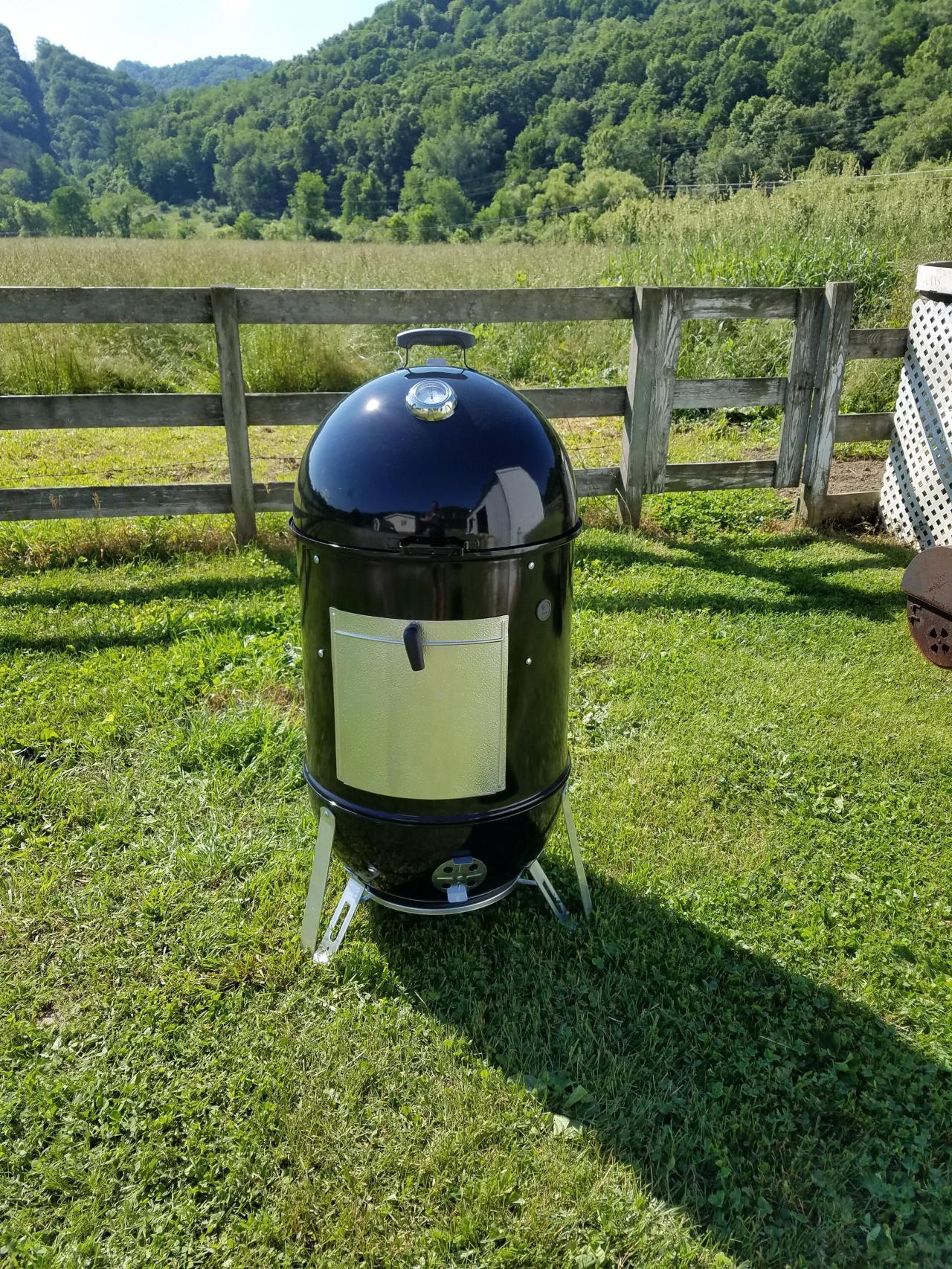 """22.5"""" Weber Smokey Mountain cooker"""