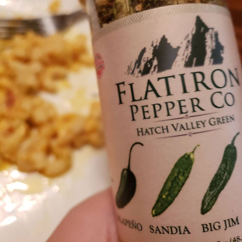 Flatiron Pepper Co. Hatch Valley Green crushed pepper