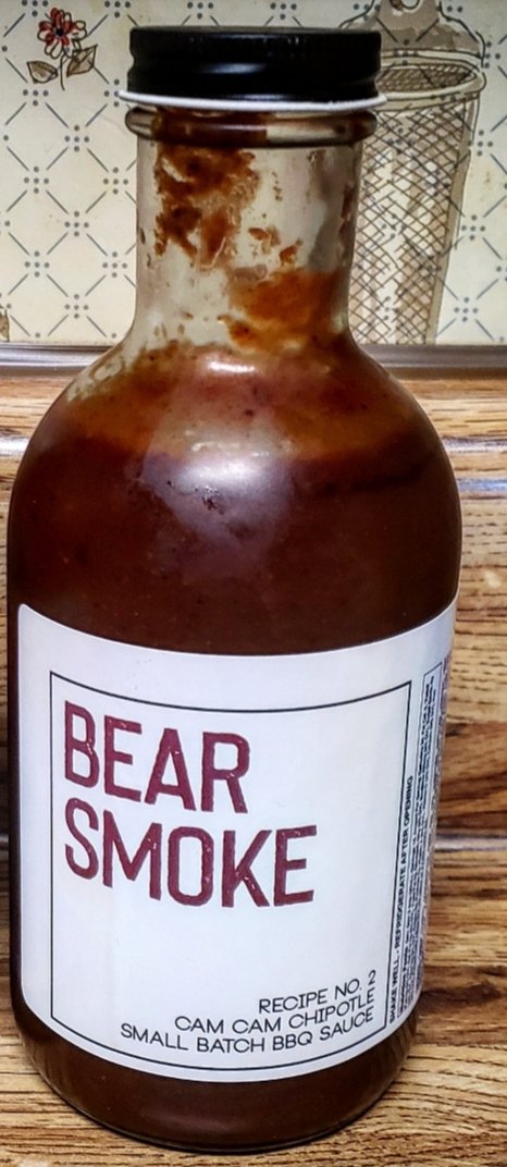 Bear Smoke BBQ Cam Cam Chipotle BBQ Sauce