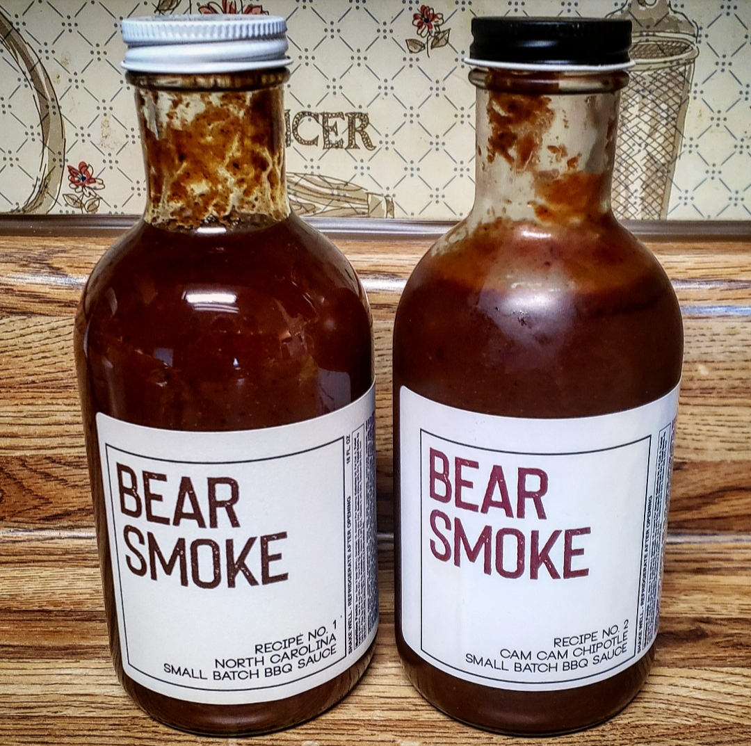 Bear Smoke BBQ sauces