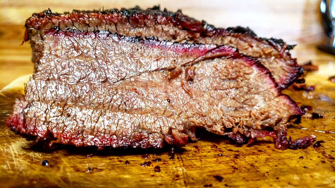 Juicy smoked chuck roast