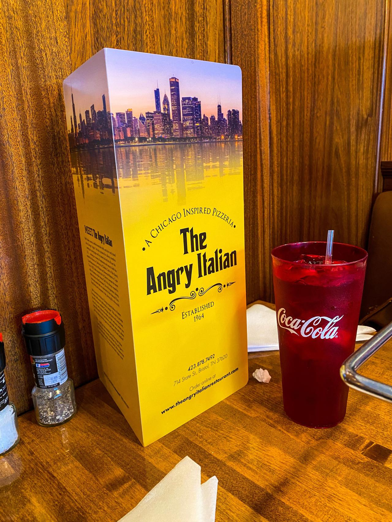 The Angry Italian – Bristol, TN – FoodReview