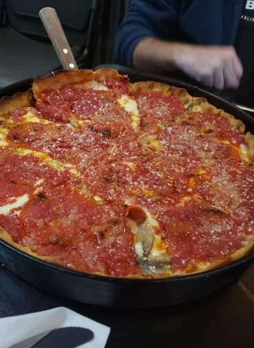 The Angry Italian Chicago Deep Dish Pizza